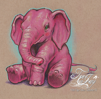 another pink elephant