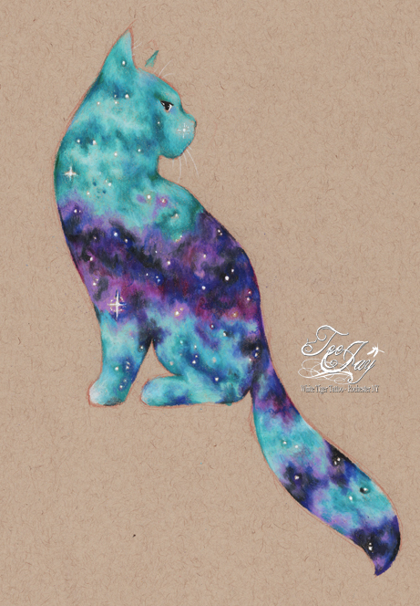 Cosmic Cat drawing