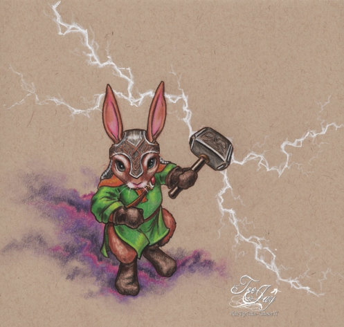 Thor Rabbit (Thunder Bunny)