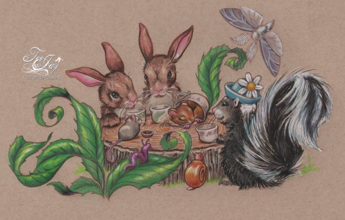woodland tea party