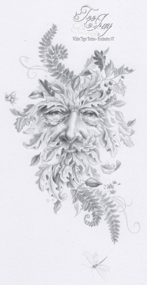silverpoint greenman drawing