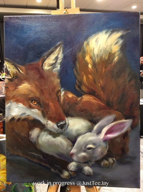 fox and the hare