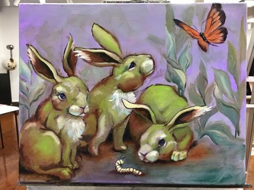 milkweed bunnies
